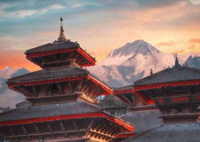 Skreidzeleu/Shutterstock.com // Patan .Ancient city in Kathmandu Valley. Nepal