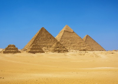Dan Breckwoldt/Shutterstock.com // Die Pyramiden von Gizeh, Ägypten
