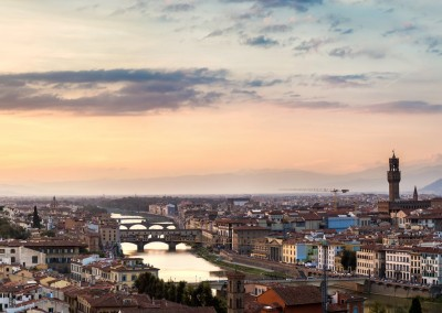 S-F/Shutterstock.com - The Ponte Vecchio at sunset in Florence, Italy