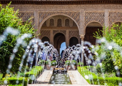 Martchan/Shutterstock.com - Gardens of the Generalife in Spain, part of the Alhambra