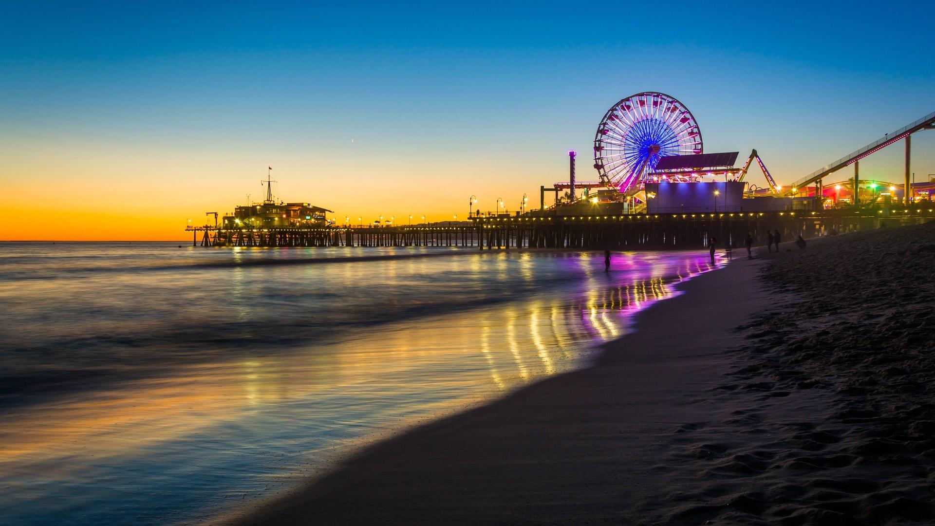Californien | St. Monica | ©Jon Bilous/Shutterstock.com